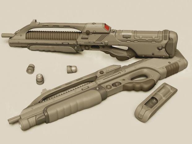 ME-32B Modular Grenadier Rifle