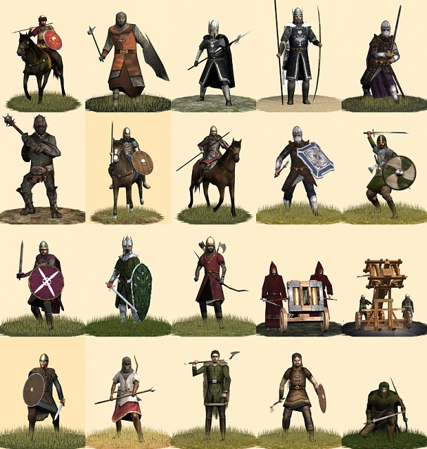 The Dominion of Men v3.3 New Units