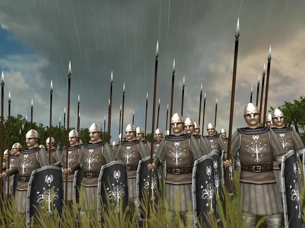 The Fourth Age: Total War - The Dominion of Men Spear_militia