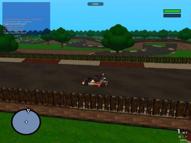 Mario Kart race track
