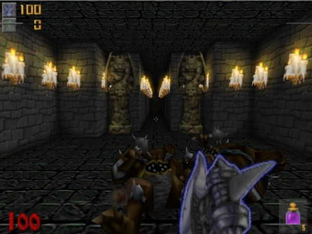 Screenshot taken from JHexen (credits to Col. J.P.)