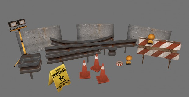 construction site & street props