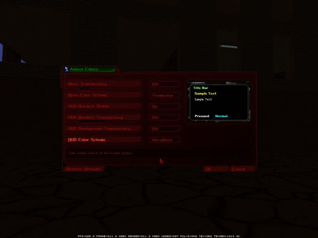 Two new HUD color schemes