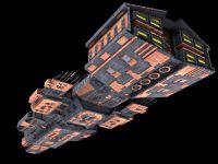 Asuran Cruiser Final (in-game ready model)