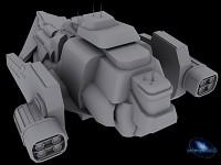 Pegasus Cyborg Mothership W.i.P. V2