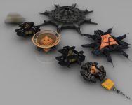 The Goauld fleet (complete)