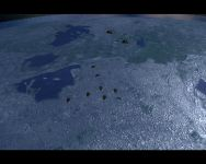 One detailed planet surface