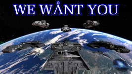 We want you - Tau'ri