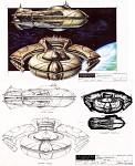 New Asgard ship - Artwork
