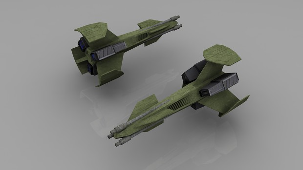Ancient BattleDrone (High-Poly Render)