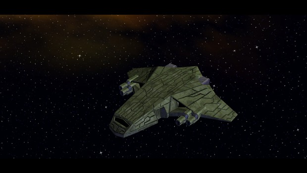 Ancient Heavy Fighter (In-Game)