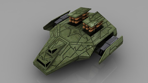 Ancients Heavy Bomber (LowPoly)