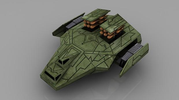 Ancients Heavy Bomber (LowPoly)