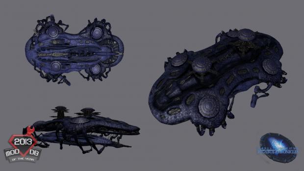 Wraith shipyard - Render