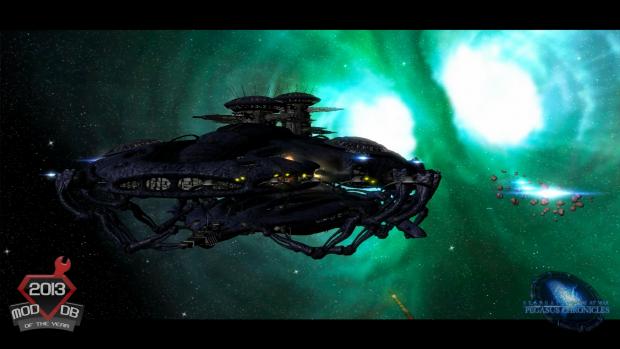 Wraith shipyard - Ingame