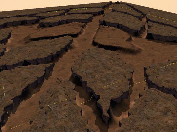 Standart desert map
