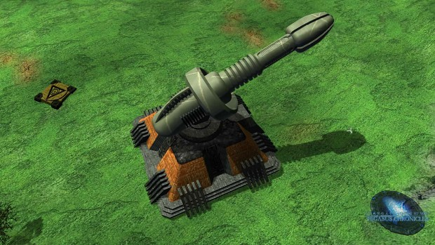 Goa'uld ground-to-space weapon