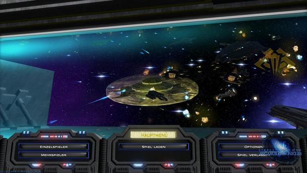 Stargate EaW: TPC - Mainmenu