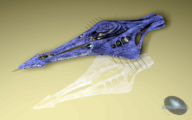 New Wraith Destroyer - Render