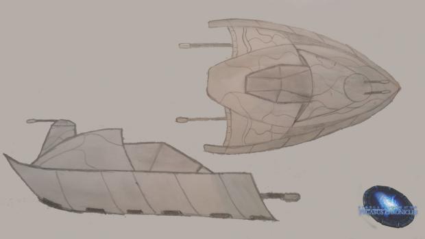Goa'uld hover tank concept