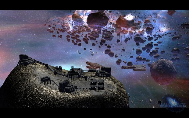 Tau'ri Asteroide Mine - Ingame