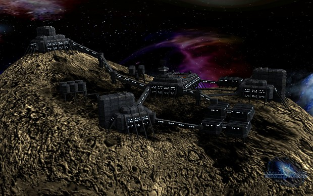 Tau'ri Asteroide Mine - Render