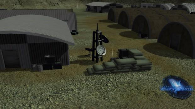 Alpha Site map