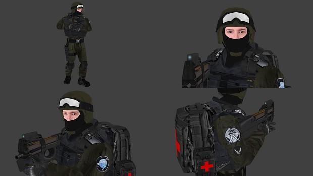 Tau'ri Medic - Ground Infantry Model