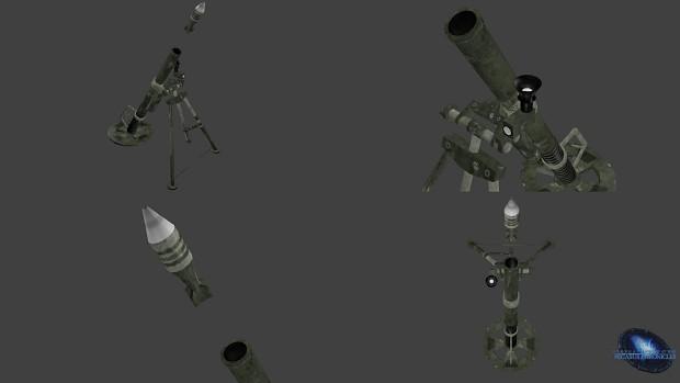 Tau'ri Mortar - Weapon Model