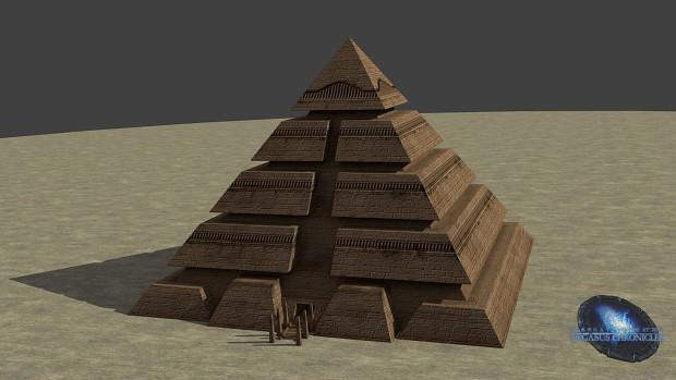 Goauld Pyramide - Prop