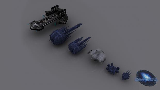Replicator fleet render