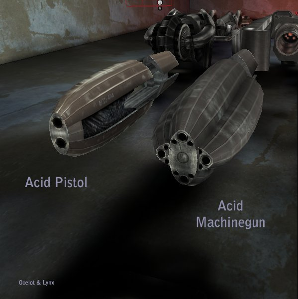 Acid Weapons