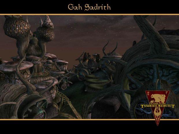 Gah Sadrith, a Telvanni town