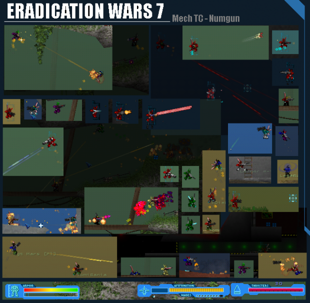 Eradication Wars 7 collage