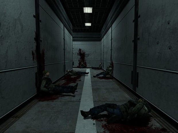 The Hallway To Otacon S Lab Image Metal Gear Solid