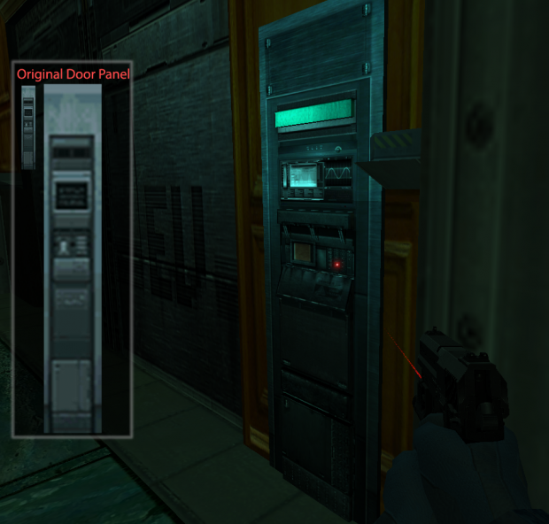 The Door Panel - Ingame