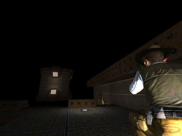 Cowboy with Sniper gun