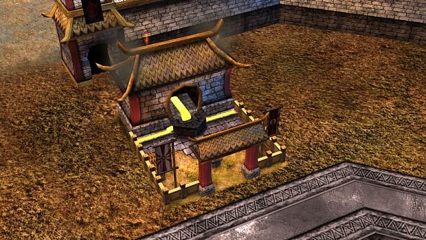 Rhûn Buildings In-game