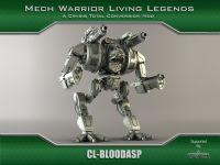Clan BloodAsp Battlemech