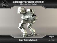 Game ready model of the Inner Sphere Catapult