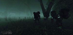 Longinus ambush in the swamp