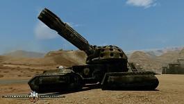 Clan Morrigu Heavy Fire Support Tank