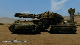 Clan Morrigu Heavy Fire Support Tank