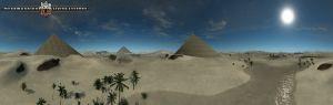Panorama view on SA_Sandblasted