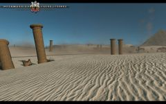 Pillars on SA_Sandblasted
