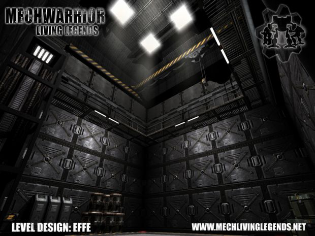 Mech Hangar Level Design 3 image - MechWarrior: Living