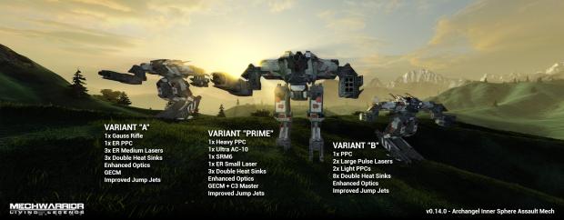 Archangel Variant Lineup PrimeAB