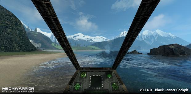 New Black Lanner Cockpit Art