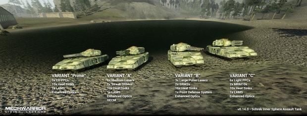 Schrek Variant Lineup PrimeABC