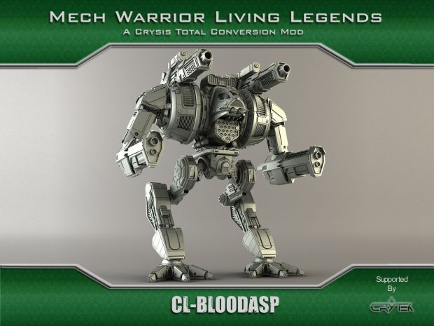 Clan BloodAsp Battlemech